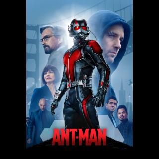 Ant-Man | HDx | [MA-redeem] Instant