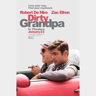 Dirty Grandpa 🔥🆓🔥| HDx 🇺🇸 Vudu | does not port MoviesAnywhere