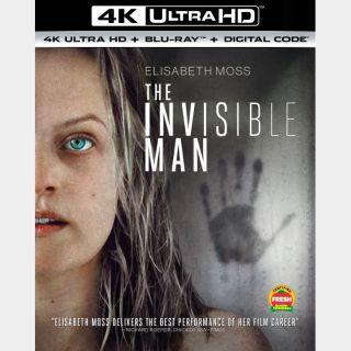 The Invisible Man | 4K UHD | MoviesAnywhere | ports Vudu/iTunes/GP/FN |