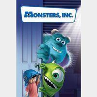 Monsters, Inc. [ 4k UHD ] MA/Vudu code | ports all providers