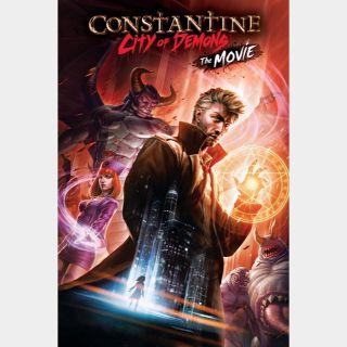 Constantine: City of Demons - The Movie 🆓🎦 | HD  🇺🇸 MoviesAnywhere | ports Vudu/iTunes/GP |