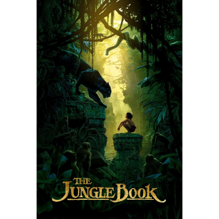 The Jungle Book | 4K UHD | [MA-redeem] Instant