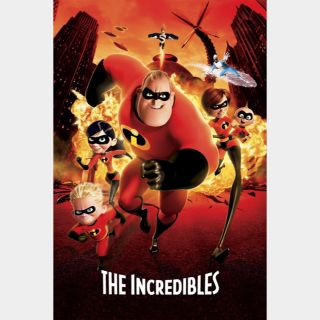 The Incredibles | HDx | GooglePlay | ports MoviesAnywhere /Vudu/iTunes/FN