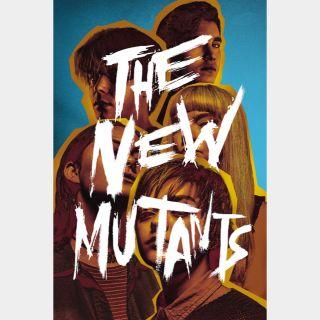 The New Mutants 🆓🎦| HDx | GooglePlay | ports MoviesAnywhere /Vudu/iTunes/FN