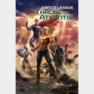 Justice League: Throne of Atlantis 🆓🎦| HD  🇺🇸 MoviesAnywhere | ports Vudu/iTunes/GP |