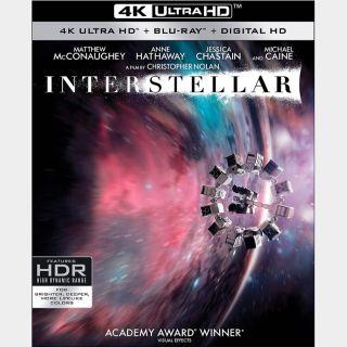 Interstellar 🔥🆓🔥| 4K UHD | iTunes code | do not port MoviesAnywhere