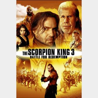 The Scorpion King 3: Battle for Redemption   HD   MoviesAnywhere   ports Vudu/iTunes/FN/GP  