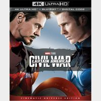 Captain America: Civil War | 4K UHD | iTunes code | ports MoviesAnywhere/Vudu