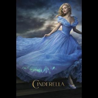 Cinderella | 4k | MA/VUDU-redeem | ports all providers