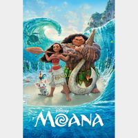 Moana [ 4k UHD ] ports MoviesAnywhere/Vudu   US- iTunes code