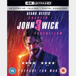 John Wick: Chapter 3 - Parabellum | 4K UHD  🇺🇸 iTunes | does not port MoviesAnywhere