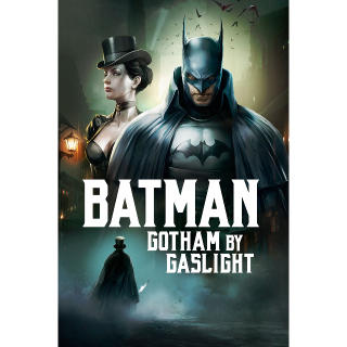 Batman: Gotham by Gaslight [4K UHD] | Actual 4K Code (MA redeem) [INSTANT]