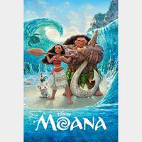 Moana [ 4k UHD ] MA/Vudu code   ports all providers