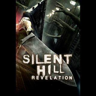 Silent Hill: Revelation | HDx | iTunes code | ports MA