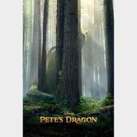 Pete's Dragon | HDx | MoviesAnywhere | Vudu | ports iTunes/GP/FN |