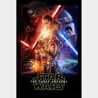Star Wars: The Force Awakens [ HD ] ports MoviesAnywhere /Vudu  | GooglePlay Code