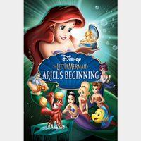 The Little Mermaid: Ariel's Beginning [ HD ] MA/Vudu code | ports all providers