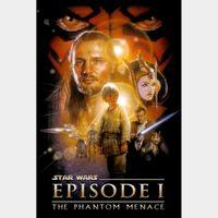 Star Wars: Episode I - The Phantom Menace [ HD ] ports MoviesAnywhere /Vudu | US- GooglePlay Code
