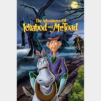 The Adventures of Ichabod and Mr. Toad [ HD ] MA/Vudu code | ports all providers
