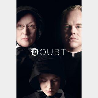 Doubt | RARE |🆓🎦 | HDx  🇺🇸 Vudu | does not port MoviesAnywhere