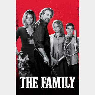 The Family | SD | iTunes code | does not port MoviesAnywhere
