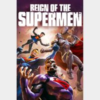 Reign of the Supermen [ 4k UHD ] MoviesAnywhere Code | ports all providers