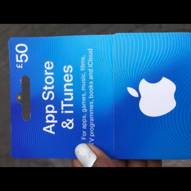 £50 00 iTunes - iTunes Gift Cards - Gameflip