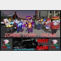 Zombie Town: Online - Steam Key! - Online Zombie FPS Action! - Immediate Steam Key Sent Automatically!