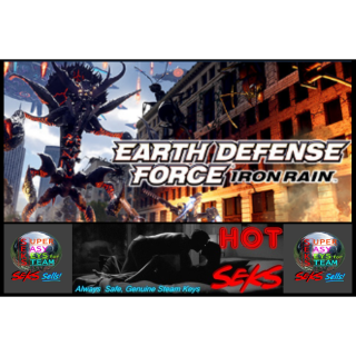 Earth Defense Force: Iron Rain - Steam Key! - Global Activation, IMMEDIATE KEY on Purchase!  SAVE HUGE $$ !!