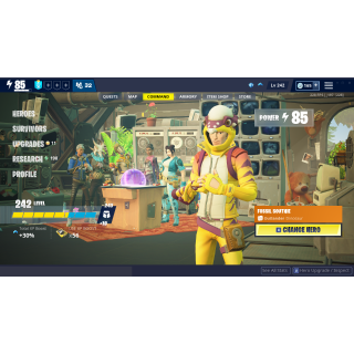 I will help you do missions and/or farm materials in Fortnite Save The World!