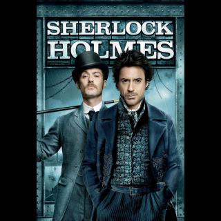 Sherlock Holmes Digital Movie Code VUDU
