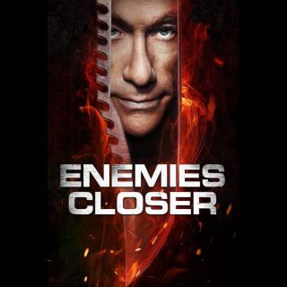 Enemies Closer Digital Movie Code VUDU