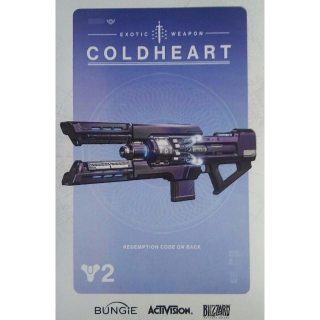 Destiny 2 Coldheart Exotic Weapon DLC PC