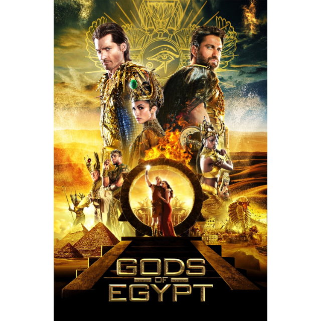 Gods of Egypt Digital HD Movie Code VUDU