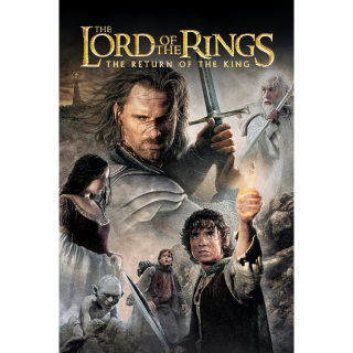 The Lord of the Rings: The Return of the King  Digital HD Movie Code Movies Anywhere