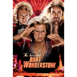 The Incredible Burt Wonderstone Digital HD Movie Code