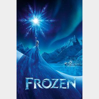 Frozen 4K Digital Movie Code Movies Anywhere