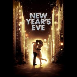 New Year's Eve Digital HD Movie Code Movies Anywhere