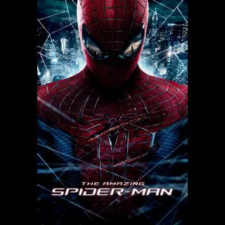 The Amazing Spider-Man Digital Movie Code Movies Anywhere