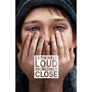 Extremely Loud & Incredibly Close Digital HD Movie Code Movies Anywhere