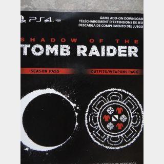 Shadow Of The Tomb Raider Season Pass + Extras