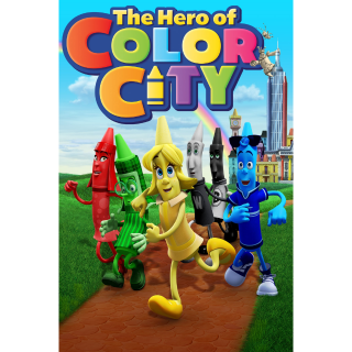 The Hero of Color City Digital Movie Code VUDU
