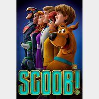 Scoob! Digital SD Movie Code Movies Anywhere