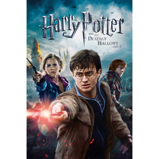 Harry Potter and the Deathly Hallows: Part 2 Digital HD Movie Code