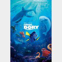Finding Dory 4K Digital Movie Code Movies Anywhere