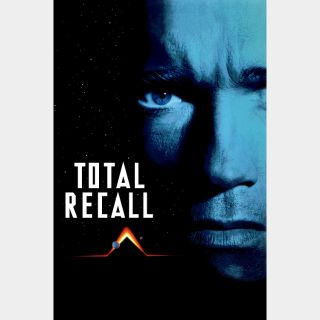 Total Recall 4K Digital Movie Code VUDU