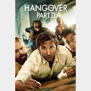 The Hangover Part II Digital HD Movie Code Movies Anywhere