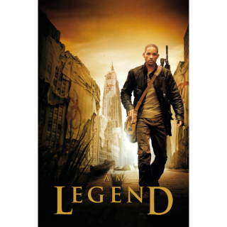 I Am Legend Digital Movie Code 4K
