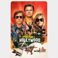 Once Upon a Time… in Hollywood 4K Digital Movie Code Movies Anywhere