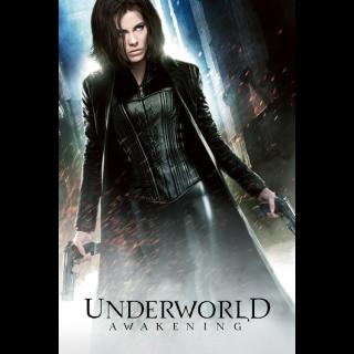 Underworld: Awakening Digital HD Movie Code Movies Anywhere